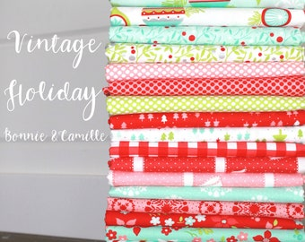 Vintage Holiday by Bonnie & Camille for Moda ~ 20 Fat Quarter Bundle