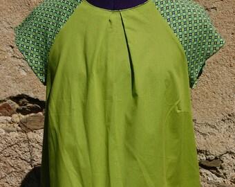 organic fabric top