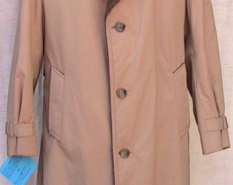 Size 42 Mighty Mac Out O'Gloucester Winter Overcoat/Raincoat