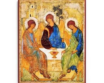 Holy Trinity (Rublev) Icon