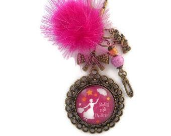 "Bag charm, door keys/nanny/nanny / ""to my nanny"" / year end gift/birthday/party/thanks/holiday / Christmas"