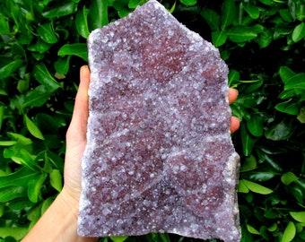 LARGE Amethyst Geode Crystal Cluster Free Stranding