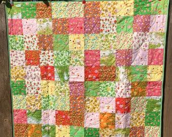 Briar Rose large crib quilt