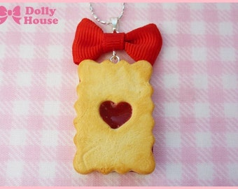 Wonder Cookie Necklace by Dolly House