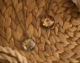 boho Pendant, vintage necklace, unique necklace, long necklace, anniversary gift, gift for her, antique gold, rustic necklace