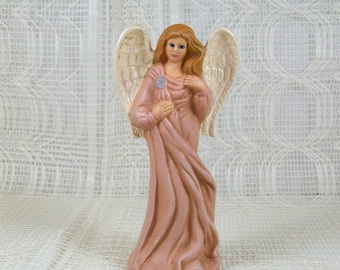Angel Figurine | Ceramic Angel | Angel Statue | Christening Gift | Baptism Favor | Angel Gift | Christian Home Decor