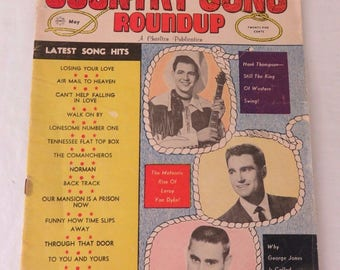 Country Song Roundup Charlton Publication May 1962 Magazine