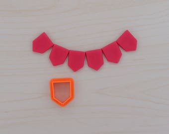 Bunting Cookie Cutter 102