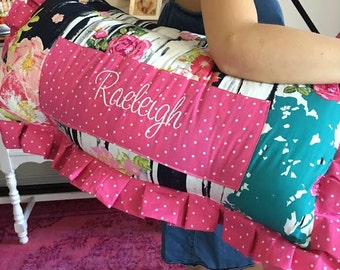 Hot Pink Nap Mat, Navy Floral Nap Mats, Fancy Nap Mats, Over the Top Nap Mats, Luxury Nap Mats, Girl Nap Mats, Designer Nap Mats, KinderMat