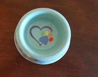 Rainbow Medium Dog Bowl