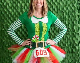 Running Tutu - Race Tutu - Adult Tutu -Christmas Tutu - Neon Run -Color Run Tutu -Marathon Tutu - 5K Tutu -Tutu - Fun Run Tutu- Holiday Run