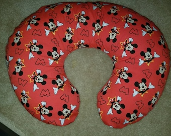 Mickey Mouse Boppy Pillow Cover, Nursing Pillow Cover