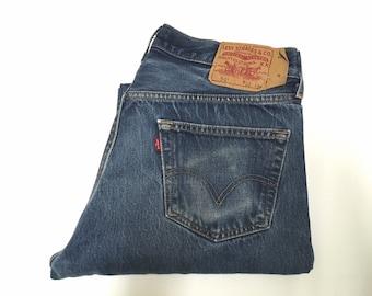 Vintage Men's 90's Levi's 501, Jeans, Button Fly, Denim (W34xL30)