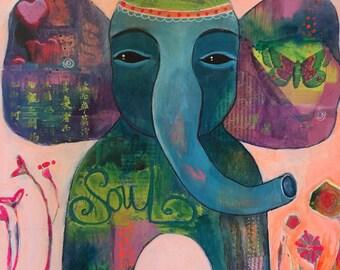 The Soulful Elephant
