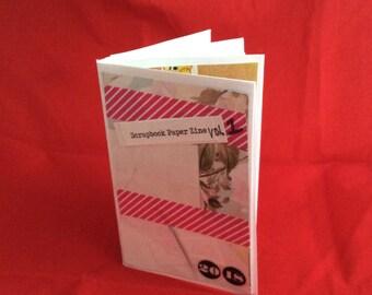 """Scrapbook Paper Zine Vol.1 """"Download"""""""