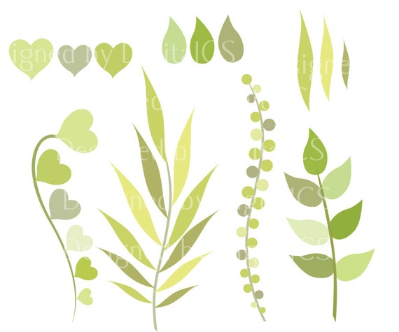 Leaves Clipart Clip Art Nature Green Leaf