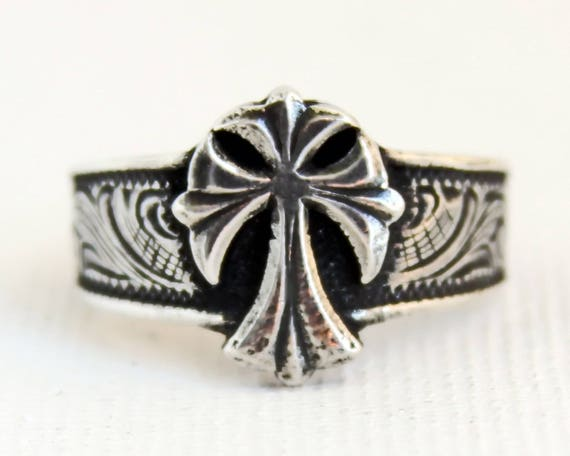 rockin out jewelry rockin out jewelry sterling silver cross ring for 7432