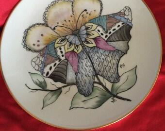 Butterfly penwork