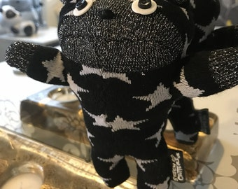 Handmade Starry Sparkly Sock Bear