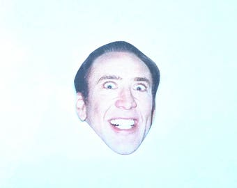 Nic Cage Sticker