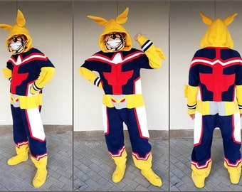 RESERVED for cafrfghtr ~ All Might ~ My Hero Academia ~ Kigurumi/Onesie