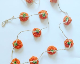Halloween Garland | Pumpkin Garland | Halloween Pumpkins | Halloween Decor | Halloween Party | Autumn Decor | Fall Festival | Autumn Garland