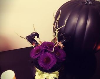 Mini Purple Witches Cauldron