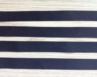 Black ribbons to 45 cm long and 1.9 cm wide sold x 4