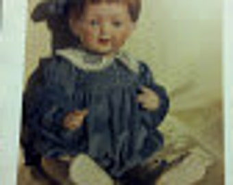 "BS-148, 17-18"" Doll Dress Pattern"