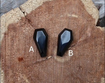 Banded Obsidian Cabochons