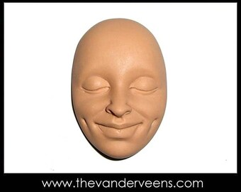 Mold No.33 (Face-High cheekbone with Big smiling) by Veronica