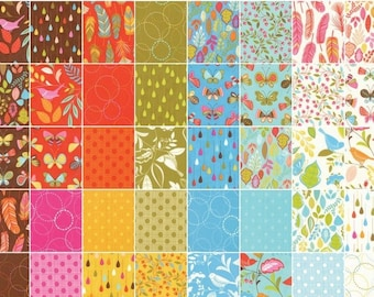 Wing & Leaf Charm Pack by Gina Martin for Moda Fabrics