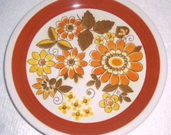Mikasa Cera Stone TWILIGHT Collectible Dinner Plate # D1851, Made In Japan