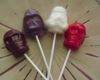 30 Space Kampf Party gefallen Lollipop Sucker Candy