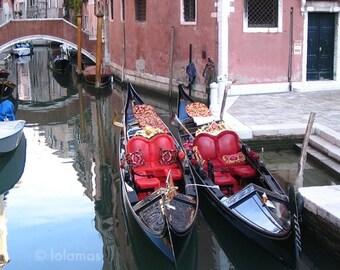 Venice print, Travel decor, Venice Italy, gondola, travel photography, Italy print, Itayi wall art
