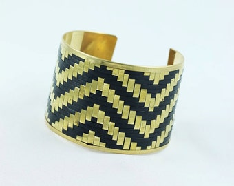 cuff bracelet, cuff bracelets , gold bracelet , gold bracelets , weave cuff , basket weave cuff , gift for her , holiday gift