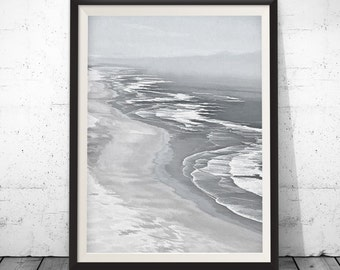 Ocean print, ocean wall art 5x7-24x36, sea wall art, sea art print, ocean poster, ocean water print, beach prints, large poster