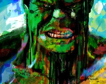 "The Hulk Art Canvas, 16"" x 24"" and 20"" x 30"""