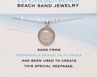 Sand Jewelry - Pensacola Florida - Pensacola Beach - Beach Sand Jewelry - Florida Jewelry - Beach Jewelry - Pensacola FL - Florida State