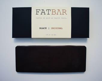 FATBΛR | ORIGINAL - Keto/Vegan 6oz Dark Chocolate Bar