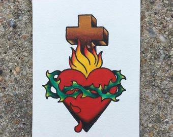 Traditional Sacred Heart