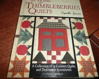 At Home With Thimbleberries Quilts Hardcover Book