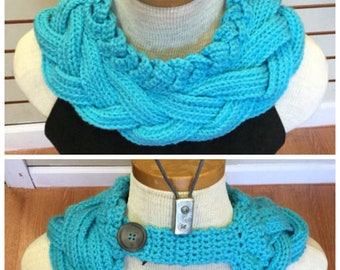Crocheted Scarf Collar