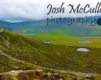 Conor Pass, A Long Journey, Irish Decor, Fine Art Photo Print, Wall Art