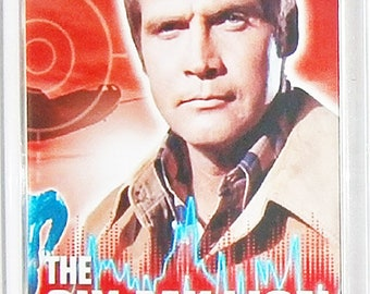 The Six Million Dollar Man Lee Majors Lindsay Wagner TV poster Fridge Magnet & Keyring Version 1 - New