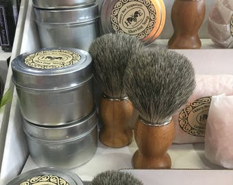 Gentleman's Shaving Soap *** Hand Crafted SHAVE PUCK ***