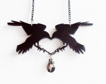 Dark Romance - Crow necklace