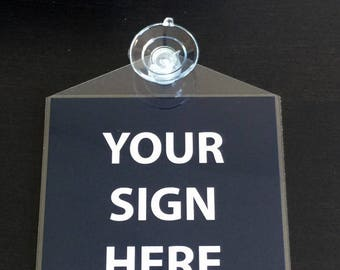 UBER sign & LYFT sign, custom print and mount service. Multiple options!!! Combo signs available!