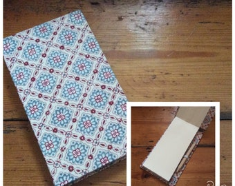 Jotter Notebook with Pencil/Shopping List pad/pocket book/handmade notebook