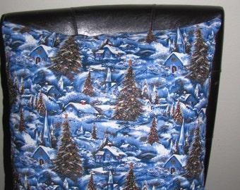 Winter Wonderland Christmas pillow Removable Cover Sham Travel Home decor Toddler Pet Bedroom